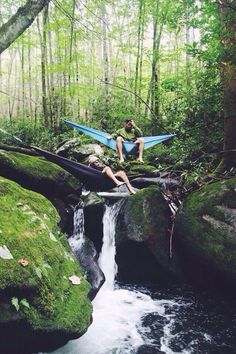 hammock hang time over a river