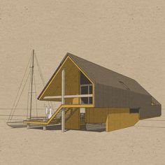 Hallstatt, Tiny House, Boat House, Lake Cabins, Modern Traditional, Build Your Own, Architecture, Designs To Draw, Interior Design
