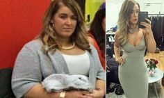 Jade Pearson, 24, from Nottingham, weighed 21 stone when she heard interviewers refer to her as 'the fat girl'. The humiliation spurred her on to lose nine stone in less than a year.