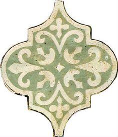 Shaped Tiles-Star and Cross Tiles - Arabesque- Hexagonal Til Backsplash Arabesque, Arabesque Tile, Kitchen Backsplash, Countertop, Best Flooring For Kitchen, Tile Floor Diy, Bath Tiles, Handmade Tiles, Tile Patterns