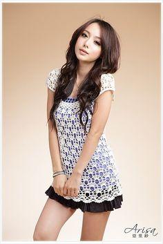free crochet dress patterns for women | Gift presents for women: Sunflower bag, free crochet patterns