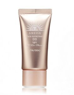 Shiseido Anessa Face Sunscreen BB Pa+++ Spf50+ Light Color by Shiseido. $46.00. A weightless protective BB cream. A weightless protective BB cream Features a water- & sweat-resistant formula for long-lasting coverage Helps smooth out rough skin texture while covering facial imperfections Shields skin from harmful effect of UVA & UVB with SPF 50 PA+++ Can also be used as makeup base Creates an even flawless & youthful looking complexion Perfect for all skin type ex...