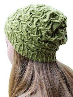 Fun hat pattern to knit