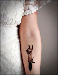 a dark fox on the front on the hand