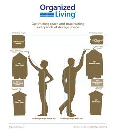Free design guide to help you maximize every inch of closet space.