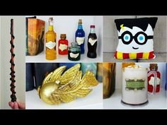 5 CHEAP AND EASY HARRY POTTER DIY CRAFTS | PINTEREST INSPIRED - YouTube** Her butter beer can be made low carb