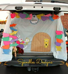 """We had a Trunk-r-Treat the other night at our church. I decorated the trunk this year. It's something I've wanted to do for years and I finally got around to it this year. You might be asking yourselves, """"why Alice in Wonderland?"""" It was my daughters idea. She recently rediscovered the movie and has been …"""