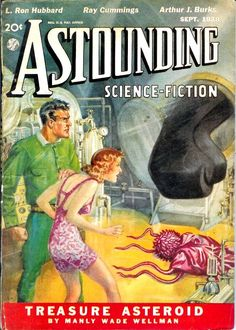 Astounding Science Fiction, September 1938, cover by Thompson
