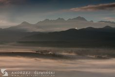 Morning landscape with Tatra Mountains on the  background.  #landscapephotography