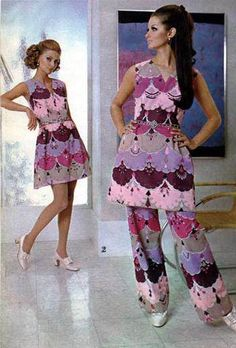 Spiegel Catalog women's fashions, 1969 - high fashion does not always translate well to catalogue fashion.