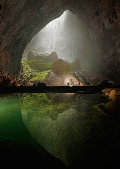 Mammoth cave in Vietnam / Carsten Peter {if anyone knows the original source for this please share it! thanks -- update thanks for finding the original source guys!} #travel