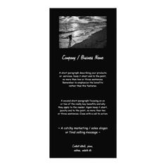 Memories of the Seafront Rack Card #zazzle HightonRidley