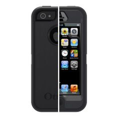 OtterBox Defender Case for iPhone 5 - Black