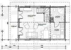 7x5m piętrowy domek letniskowy 35m2 dom z drewna 10x5m całoroczny WD1 Poznań - image 5