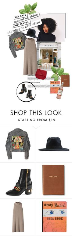 """""""the way she does it."""" by middayxmuse ❤ liked on Polyvore featuring Kate Spade, GALA, Element, Gucci, Monica Rich Kosann, STELLA McCARTNEY and Burberry"""