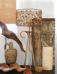 Manualidades y bellezas: Como hacer una linda lampara