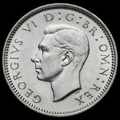 1940 George VI Silver Sixpence, EF