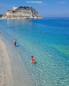 Feeling so much happiness experiencing the clear waters of Tropea Italy ___SAVE this photo to add this place to your list___ Photo Experience by roberto_lorenzo_photography Maui Vacation, Italy Vacation, Tropea Italy, Places To Travel, Places To See, Cruise Italy, Italy Map, Destination Voyage, Bali Travel