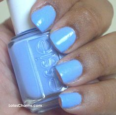 """Essie - Bikini So Teeny. Perfect color to add """"something blue"""" to your wedding!"""