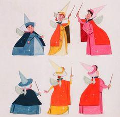 three good fairies - concept art