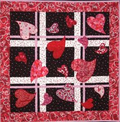 Hearts Afield Quilt Pattern by  Loretta Shriner at Quilt Woman