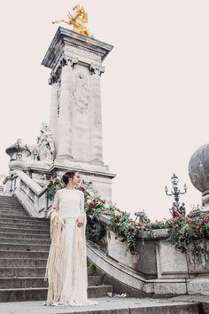 Otaduy gown | Image by The Visual Partners | Wedding Inspiration | Wedding Dress Inspiration | French Wedding Inspiration