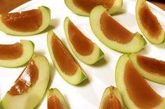 Carmel Apple Jello Shots http://www.buzzfeed.com/emofly/how-to-make-delicious-caramel-apple-jello-shots