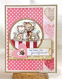 Max & Muffin stamp set with co-coordinating die