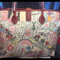 Macy's Thanksgiving Day Parade Handbag Macys Thanksgiving Day Parade Handbag. This is NOT available in stores! You can only get this through an employee service award. NO LOW BALL offers will be responded to. Made especially for Macy's by Dooney & Bourke. Dooney & Bourke Bags Totes
