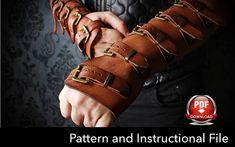 Bracers Pattern Cosplay DIY Pdf Download Cosplay Bracers