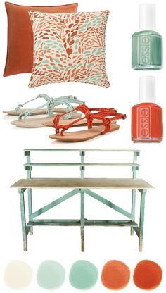 Today I want to talk about coral and teal! My favorite color scheme of the summer. During the whirlwind of finals and projects in May, these colors reminded me of the ever so close, blissful freedom called summertime. obsessed with these! (viaanthro) (source) (source) (via pinterest) alicebgardens on etsy (source) (via pinterest) These truly are …