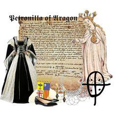 Petronilla of Aragon. My 29th great-grandmother.