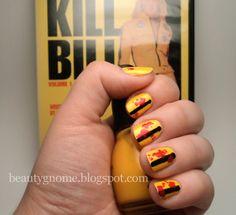 Kill Bill Inspired Mani.