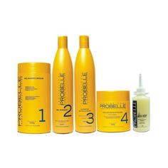 Probelle Guanidina - Kit Relaxamento ou Alisamento 5 itens - www.novabela.com.br Energy Drinks, Red Bull, Shampoo, Beverages, Personal Care, Canning, Bottle, Beauty, Brazilian Blowout