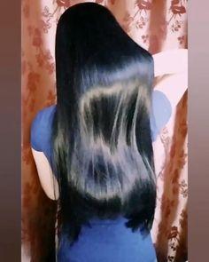 Long Silky Hair, Long Dark Hair, Beautiful Long Hair, Gorgeous Hair, Long Indian Hair, Cute Asian Babies, Long Hair Video, Shiny Hair, Grow Hair