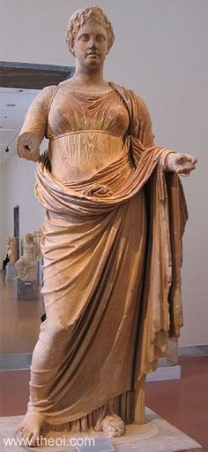 Demeter (Demeter Athens) - National Archaeological Museum, Athens, Greece