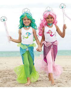 magical mermaid tail - girls as mermaids & chip as a unicorn ?