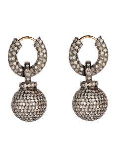 Diamond Gumball Earrings