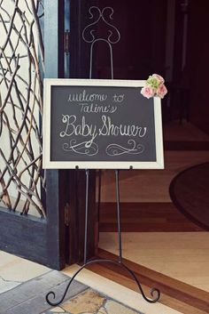 Little Birdie Shabby Chic Baby Shower on the Tinyprints Blog