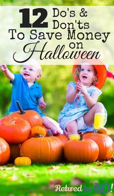 It is easy to get overwhelmed with all of the planning that goes into how to save money on Halloween and still making it fabulous, but if you start now, not only will you keep your budget in check, you'll have the most fabulous Halloween on the block! Diy Halloween Costumes For Kids, Halloween Food For Party, Diy Halloween Decorations, Easy Halloween, Holidays Halloween, Halloween Pumpkins, Halloween Recipe, Fall Carnival, Money Saving Meals