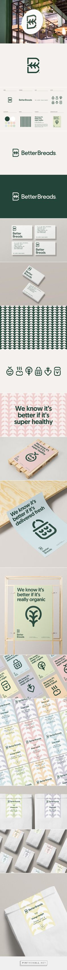 Better Breads logo and branding by Diferente on Behance... - a grouped images picture - Pin Them All