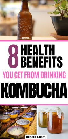 Kombucha has some serious health benefits! Below are 8 of the best health benefits from drinking kombucha. benefits 8 Kombucha Health Benefits You Never Knew About Healthy Detox, Healthy Drinks, Diet Drinks, Healthy Snacks, Healthy Recipes, Ayurveda, Health And Nutrition, Health Tips