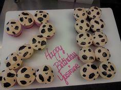 21st Birthday Cupcake Pull Apart