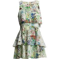 Süßes, luftiges Kleid für den Sommer. Der leichte Schnitt garantiert eine feminine Silhouette. Super schick mit blauen, grünen, weißen oder braunen Lederheels.