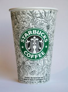 Wish SBux would hire this lady already and make some cups I could buy!!