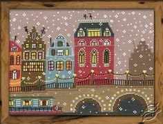 City In The Snow II - Cross Stitch Kits by RIOLIS - 953