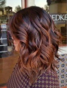 balayage for dark hair best of idee de coupe de cheveux coiffure mi long femme coiffure of balayage for dark hair Auburn Balayage, Hair Color Balayage, Brown Balayage, Auburn Ombre, Copper Balayage, Dark Ombre, Subtle Balayage, Auburn Red, Ombre Brown
