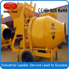 chinacoal03 Dry Mortar Cement Mixer Mortar cement mixers, Dry Mortar Cement Mixer, Cement Mixer, Product Introduction 1. Small in size 2. Manually operate and move easily 3. High speed and super quality for mixing JH series portable concrete mixers have 3 types, electric motor driven, gasoline engine driven and diesel engine driven.