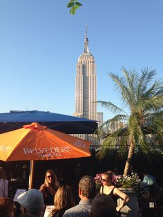 Palm trees & Empire State... 230 5th ave