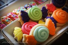 cookies + fondant = Candy Shoppe Cookies